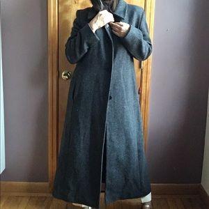 💯 wool minimalist coat